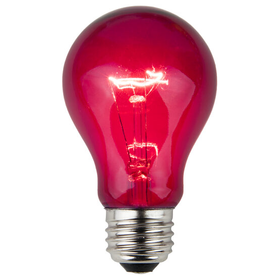 A19 Colored Party Bulbs, Purple