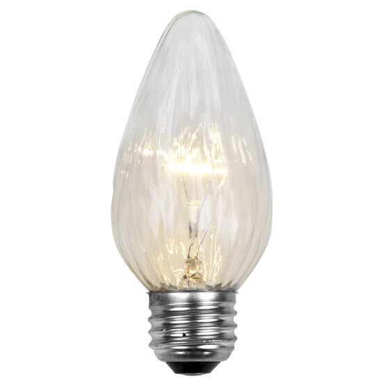 F15 Flame Patio Light Bulbs, Clear