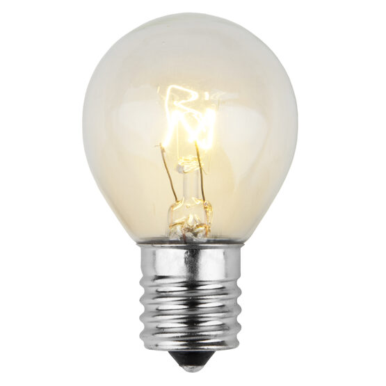 S11 Patio Light Bulbs, Clear