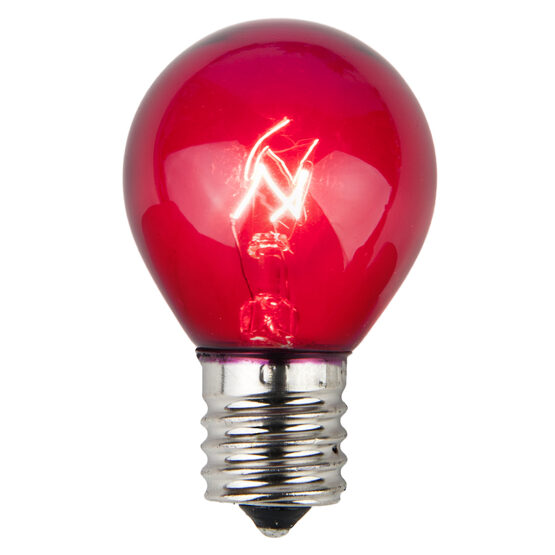 S11 Colored Party Bulbs, Purple
