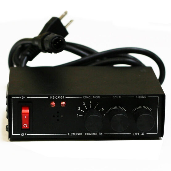 6 Function Variable Speed Controller for 3 Wire Rectangular Rope Light