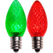 C7 LED Light Bulb, Red Color Change