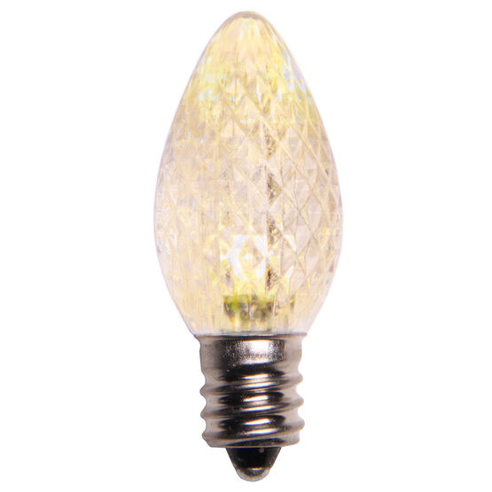 C7 LED Light Bulb, Warm White