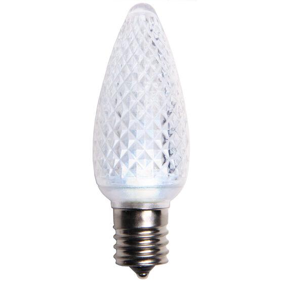 C9 LED Light Bulb, Cool White