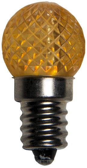 Mini G20 Globe LED Patio Light Bulb, Gold