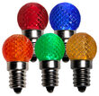 Mini G20 Globe LED Patio Light Bulb, Multicolor