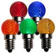 Mini G20 Globe LED Patio Light Bulb, Multicolor