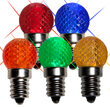 Mini G20 Globe LED Patio Light Bulb, Multicolor Twinkle