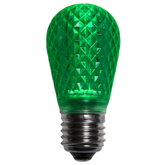 S14 T50 LED Patio Light Bulb, Green