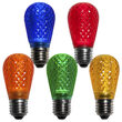 S14 T50 LED Patio Light Bulb, Multicolor