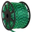 "150' Green Chasing Rope Light, 120 Volt, 1/2"""