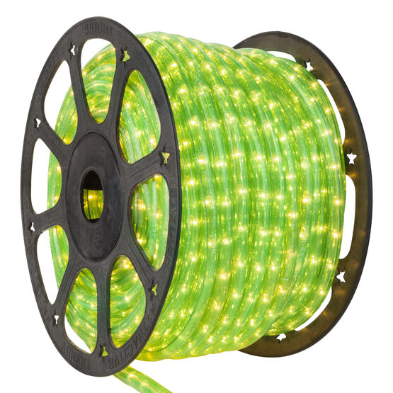 Fluorescent Green Rope Lights, 120 Volt