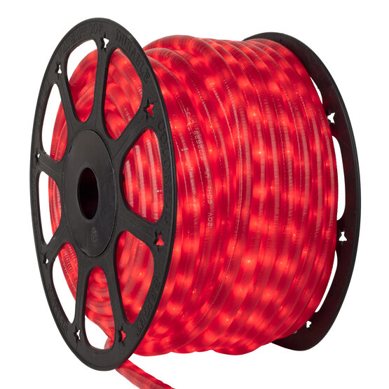 Pearl Red Rope Lights, 120 Volt