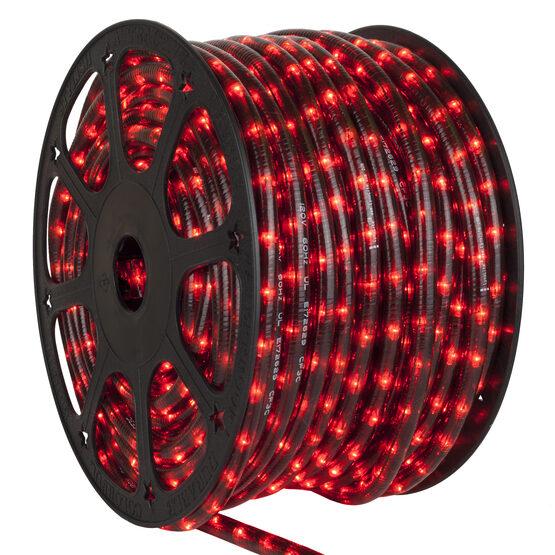 "150' HellFire Red Chasing Rope Light, 120 Volt, 1/2"""