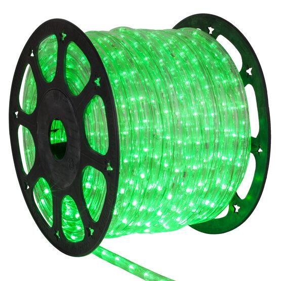 "153' True Green LED Rope Light, 120 Volt, 1/2"""