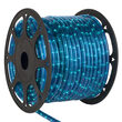 150' Blue Chasing Rope Light, 120 Volt, 1/2""