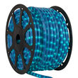 """150' Pearl Blue Chasing Rope Light, 120 Volt, 1/2"""""""