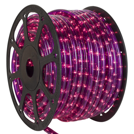 150' Purple Rope Light, 120 Volt, 3/8""