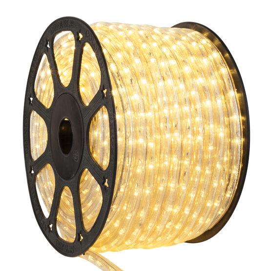 Champagne LED Rope Light, 120 Volt