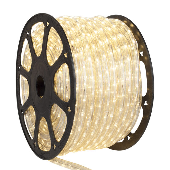 150' Antique White LED Rope Light, 120 Volt, 1/2""