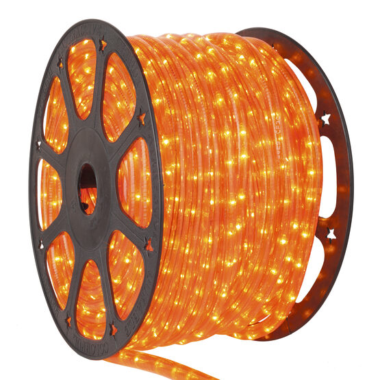 Orange Rope Lights, 120 Volt