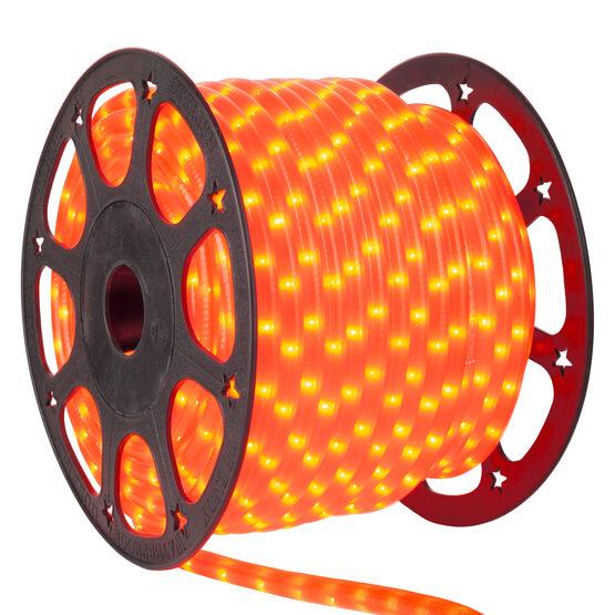 "150' Orange Rope Light, 120 Volt, 3/8"""