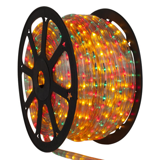 Red, Green, Yellow Rope Lights, 120 Volt