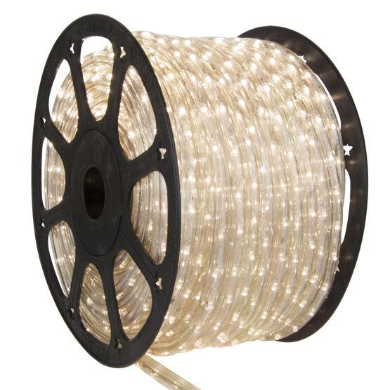150' Warm White Chasing LED Rope Light, 120 Volt, 1/2