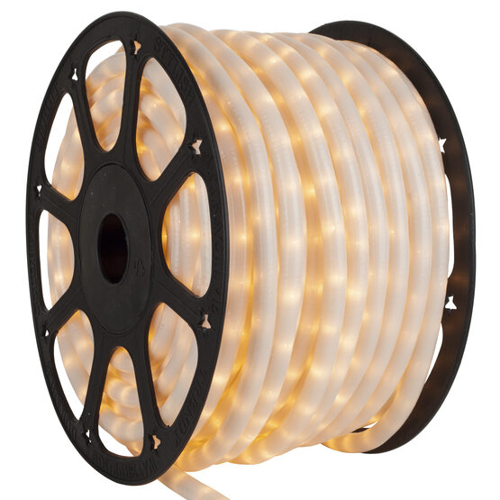 """150' Pearl White Rope Light, 12 Volt, 3/8"""""""