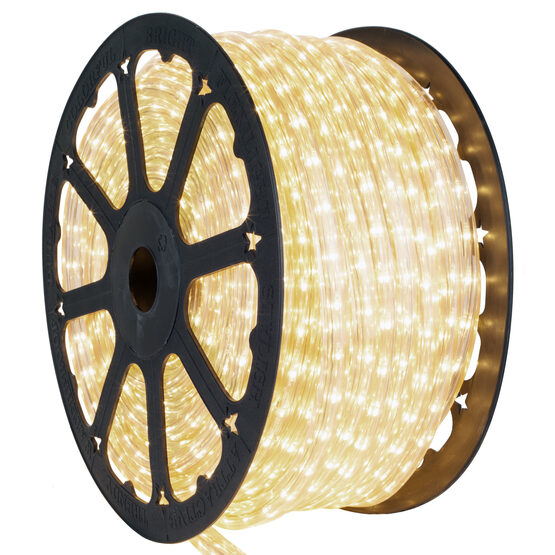 """150' Clear Square Rope Light, 12 Volt, 3/8"""" x 3/8"""""""