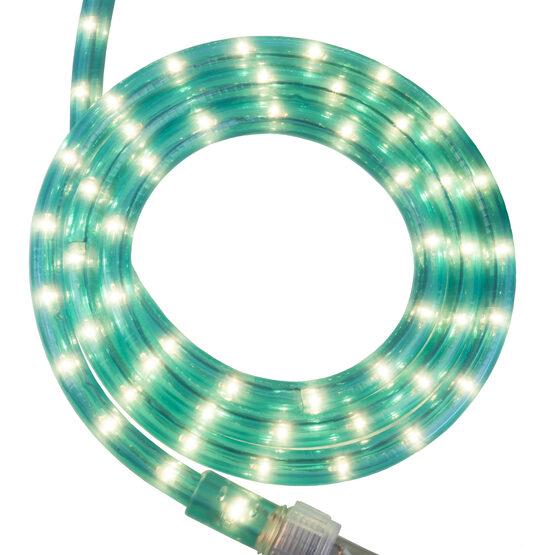 """18' Aqua Blue Rope Light, 120 Volt, 1/2"""""""