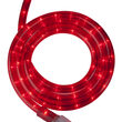 30' Red Rope Light, 120 Volt, 1/2""