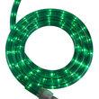 "12' Green Rope Light, 120 Volt, 1/2"""
