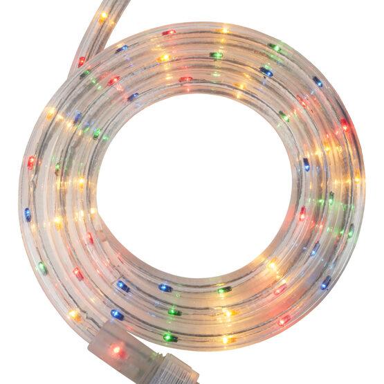 "30' Multicolor Rope Light, 120 Volt, 1/2"""