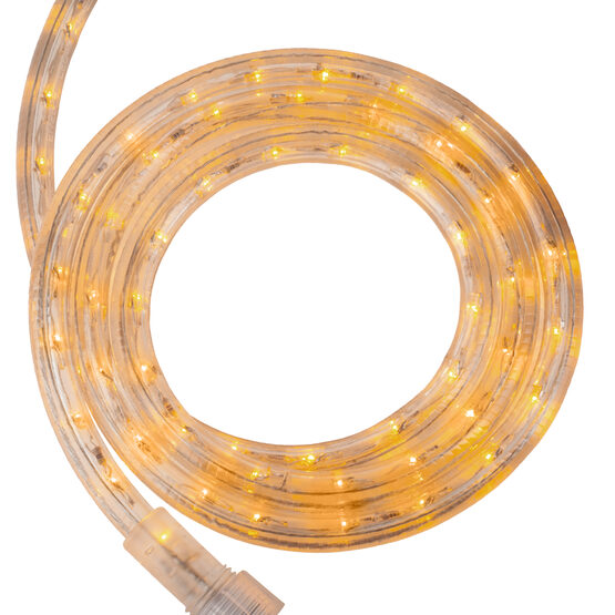 Yellow LED Rope Light, 120 Volt