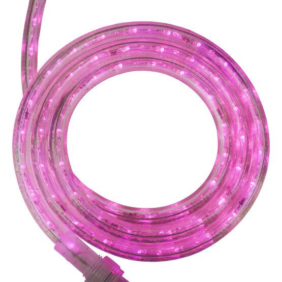 """30' Pink LED Rope Light, 120 Volt, 1/2"""""""