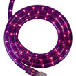 "30' Purple Rope Light, 120 Volt, 1/2"""