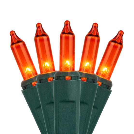 Standard Amber / Orange Mini String Lights
