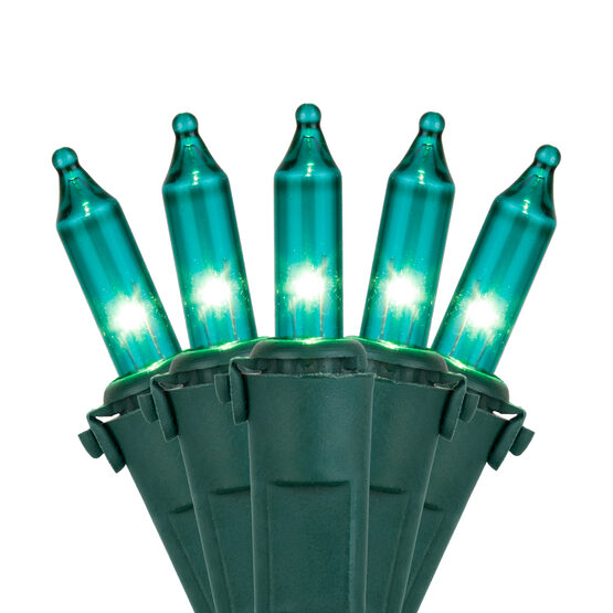 Premium Teal Mini String Lights