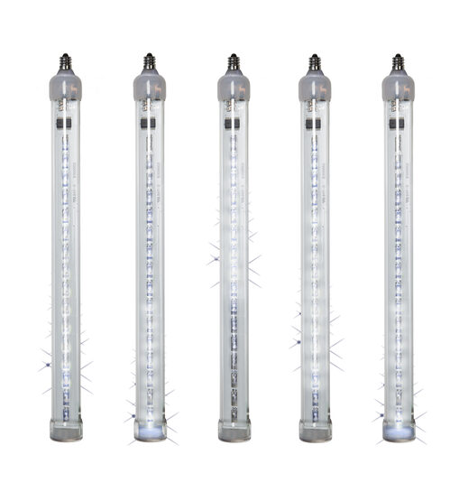 T8 Grand Cascade LED Light Tubes, Cool White , E12 Base