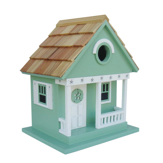 Beach Sand Dollar Cottage 1 Room Hanging Bird House