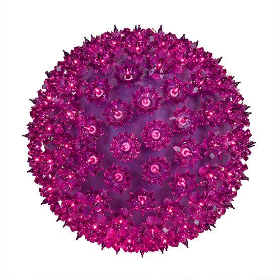 """6"""" Light Sphere, 50 Purple Lights"""
