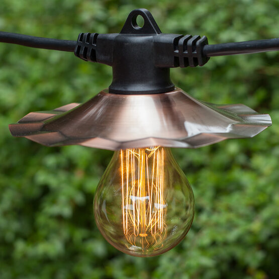 A75 Patio Light Bulbs, Clear