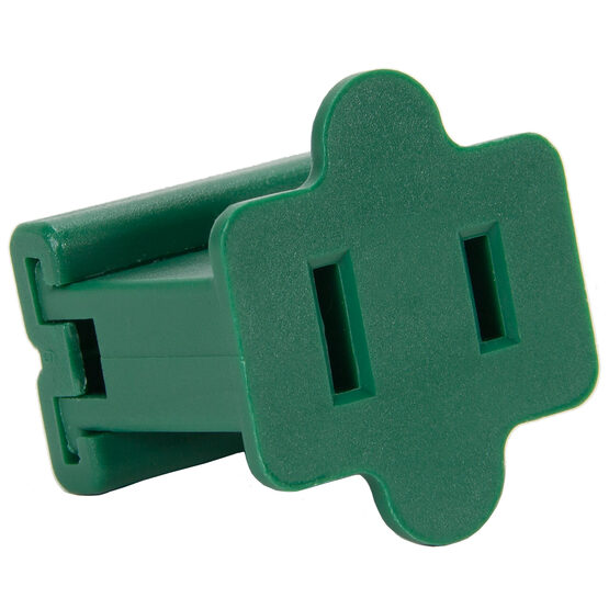 SPT1 Polarized Female Zip Plug, Green