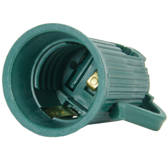 SPT1 C9 Socket, Green