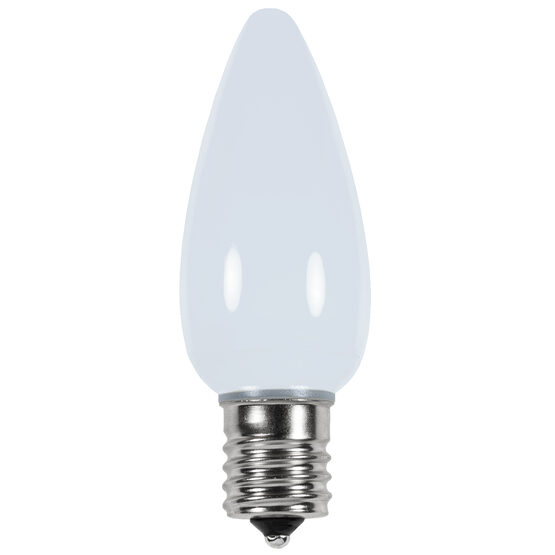 C9 Smooth LED Light Bulb, Cool White