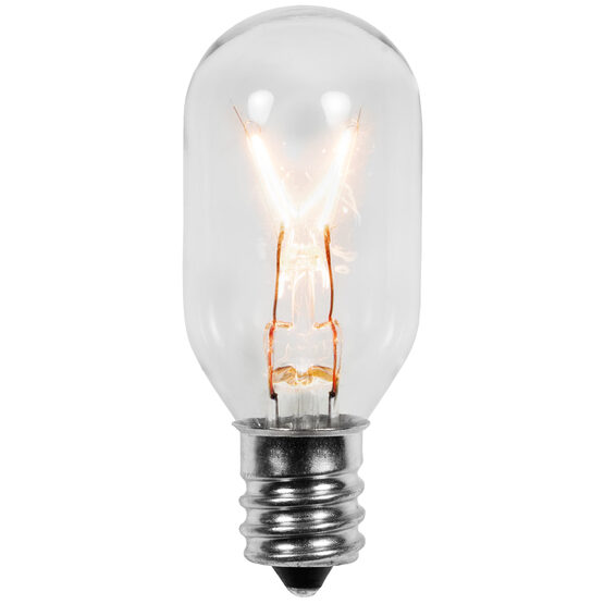 T22 Patio Light Bulbs, Clear