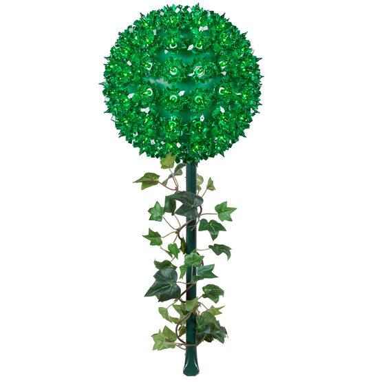 Light Sphere Stake, Green