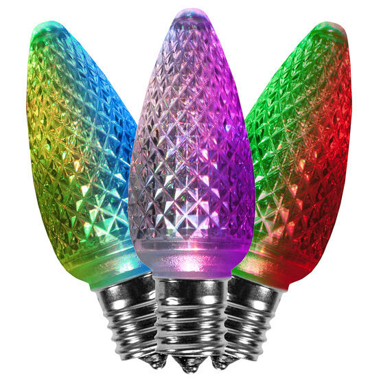 C9 LED Light Bulb, Multicolor Color Change