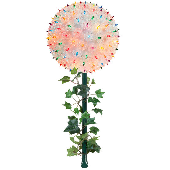 "7.5"" Light Sphere Stake, Multicolor"